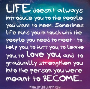 life and people